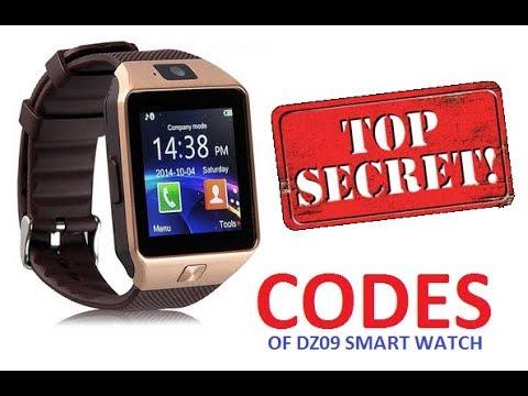 Dz09 Smart Watch Secret Codes Hindi Youtube