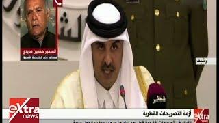 هريدي: قطر لا تستطيع معاداة البلاد العربية.. وسياساتها خارجة عن الاجماع الدولي