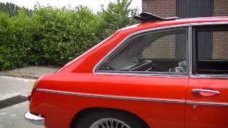 MG MGC GT Coupe 6 cyl 3.0 liter  -VIDEO- www.ERclassics.com