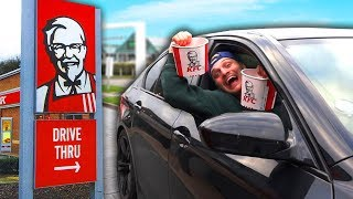 Driving Through KFC 100+ Times And Ordering Something Every Single Time