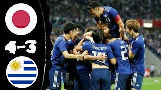 Japan vs Uruguay 4-3 All Goals & Extended Highlights 16-10-2018