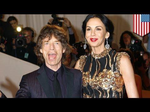 Mick Jagger girlfriend L