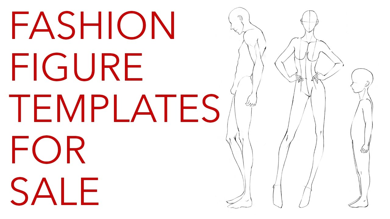 Fashion Figure Templates Are Here