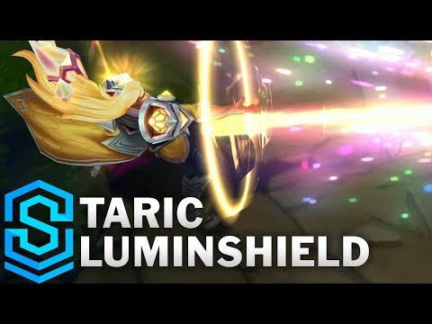 Taric Luminshield Skin Spotlight - Pre-Release - League of Legends