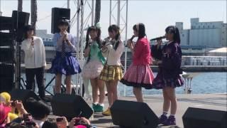 2017/04/02 大阪南港ATC たこやきレインボー 3rdシングル「RAINBOW ~私...