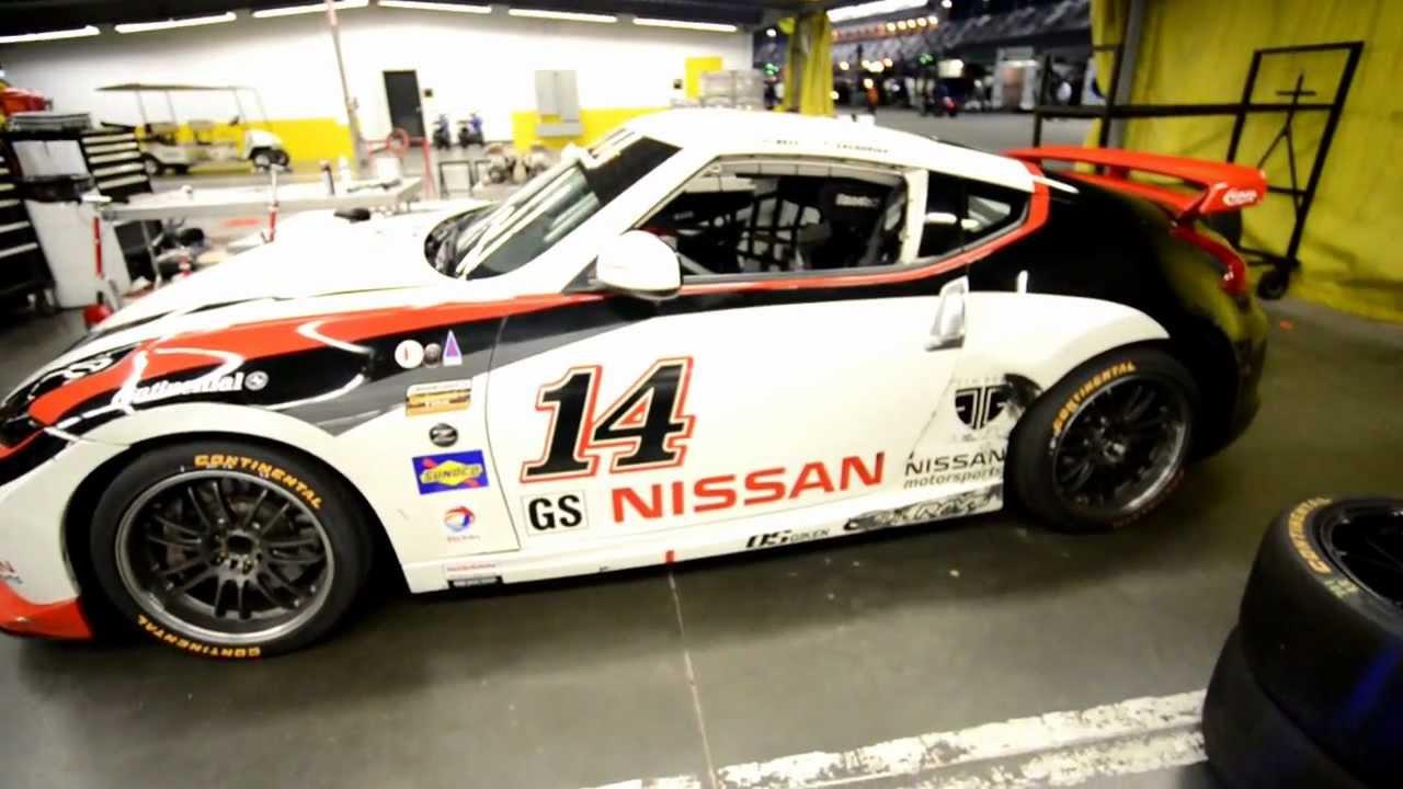 2013 Continental Tire DORAN Racing Nissan 370Z HD - YouTube