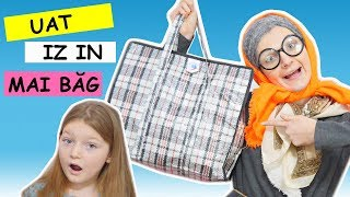 CE se afla IN GEANTA Mea? Geanta Bunicii/ What is in my bag?