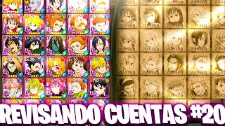 🔎¡REVISANDO CUENTAS #20!🔎 Seven Deadly Sins: Grand Cross