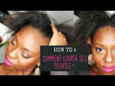 Couper les pointes cheveux courts