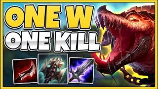 *INSANE ONE-SHOTS* INSTANT 5X ON-HIT PROC RENEKTON (NEW COMBO) - League of Legends