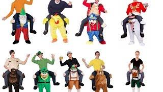 Костюм Алиэкспресс Гном Прикольные костюмы Товары с Китая Верхом на динозавре