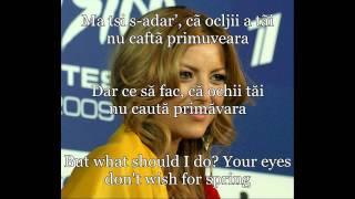 Elena Gheorghe - &quotMa tsi s-adar&#39&quot cu traducerea romana si engleza with English ...