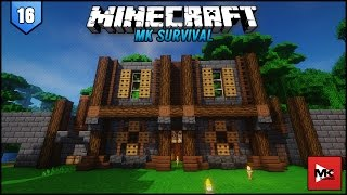 minecraft mk survival 16 cu c ngay trong căn cứ afk fish farm   mk gaming