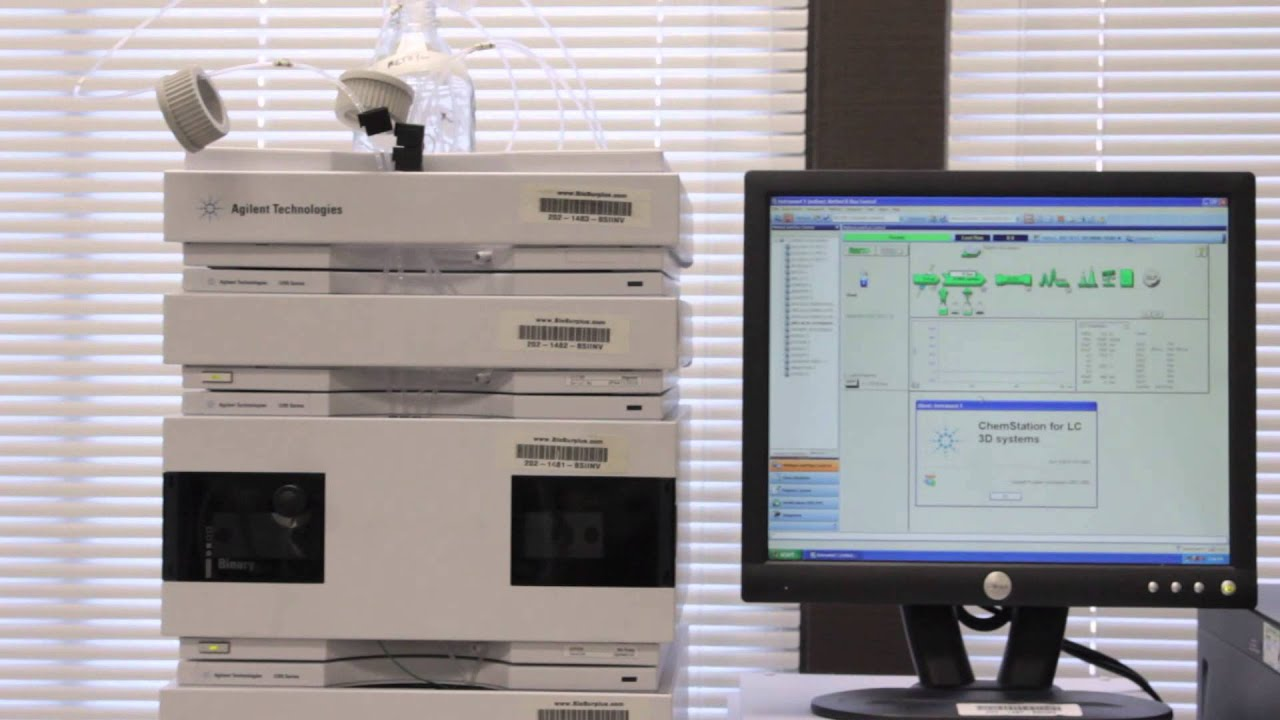 Agilent 1200 HPLC System - Test Video - YouTube