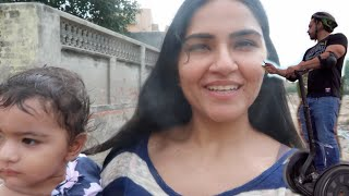Ritu goes to her Village  Segway Ride