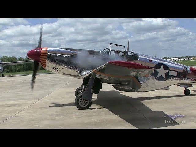 North American P-51C - Flight & FlyBys