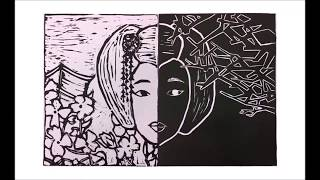 Assignment 2 Lino Cutting of Geisha in The Flower and Willow World