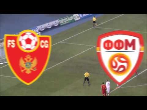 Macedonia - Montenegro 4:1 All Goals