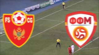 Macedonia - Montenegro 4:1 (only goals)