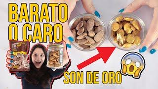 Frutos secos BARATOS vs CAROS (TIENEN ORO) - Experimentos caseros