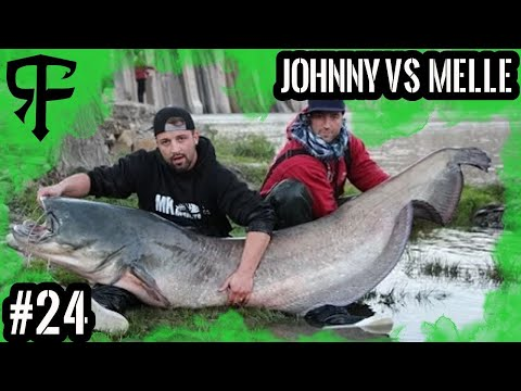 Fishing Duell 1 Johnny VS Melle  Wer fängt den 2 meter Wels,