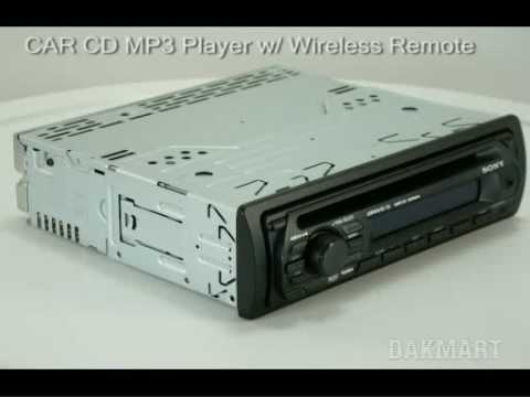 Sony CdxGt07 Car Stereo  Cdxgt07  YouTube