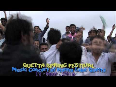 Music Show at Hanna Lake in Quetta - Balochistan
