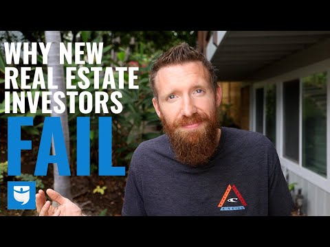 4 Reasons Why New Real Estate Investors FAIL