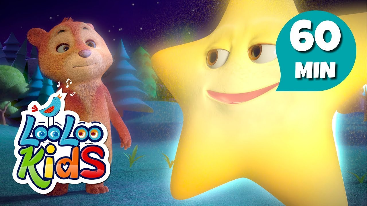 Twinkle, Twinkle, Little Star - Learn English with Songs for Children | LooLoo Kids