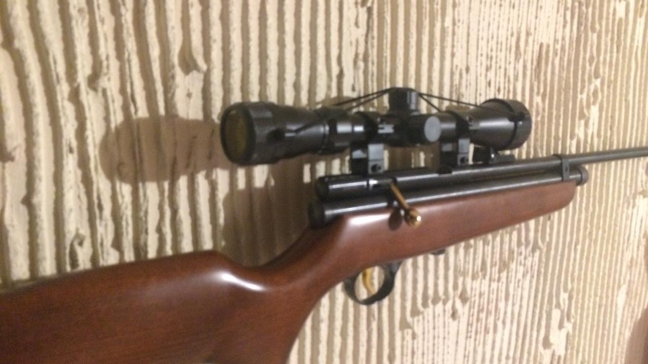 QB78 - 12 ft/lbs rifle - info, shot groups, chrony results