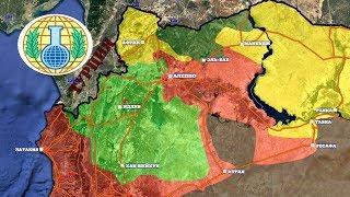 30 июня – 1 июля 2017. Военная обстановка в Сирии. Игиловцы изгнаны из провинции Алеппо.
