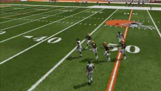 Madden07 Vick with the QB draw