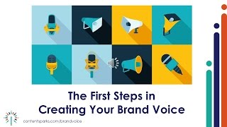 Discover Your Brand Voice - The First Steps | Content Sparks