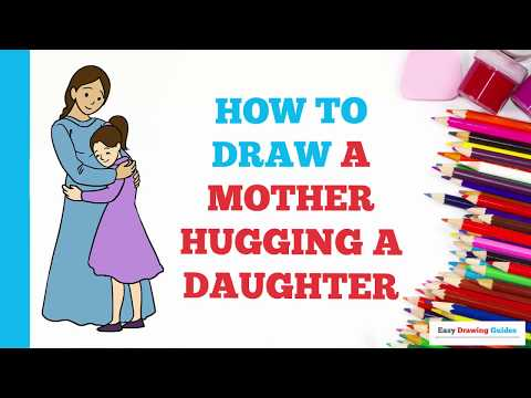 how-to-draw-a-mother-hugging-a-daughter-in-a-few-easy-steps:-drawing-tutorial-for-kids-and-beginners
