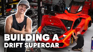 Would You Cut Up A Brand New Lamborghini Huracan? | Drift Lamborghini #2