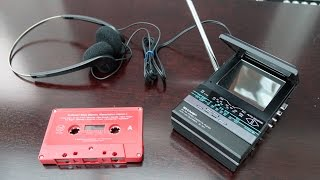 RetroTech: TV Personal Stereo - 1986 in your pocket