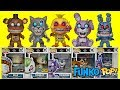 Five Nights at Freddy's FNAF The Twisted Ones + Sister Location Game Funko Pop Full Set