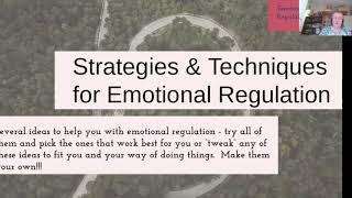 7/20: Emotion Regulation