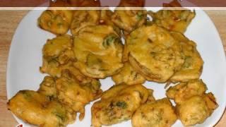 Vegetable Pakora By Manjula, Indian Vegetarian Cooking