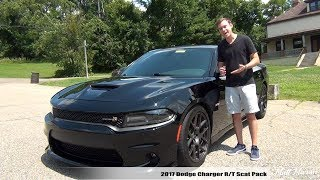 Review: 2017 Dodge Charger R/T Scat Pack - The Angry Villain