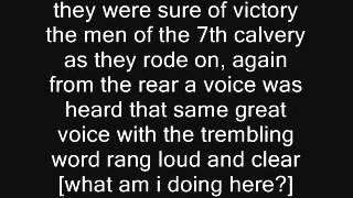 Mr. Custer w/lyrics