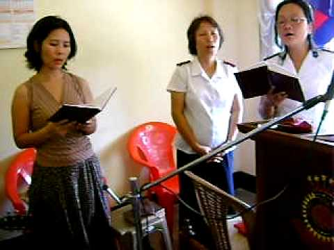 GUWAHATI   OCT 2010 VIDEO 8  SALVATION ARMY  CHURCH SERVICE.