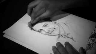 Drawing Cory Monteith