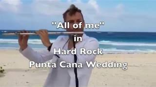 Wedding Flute Player Hard Rock Punta Cana