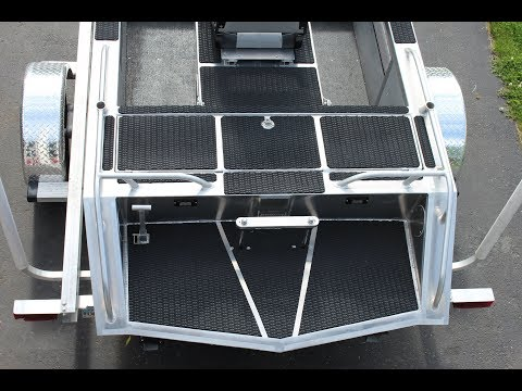 Hydro-turf custom boat install and template making tips and tricks
