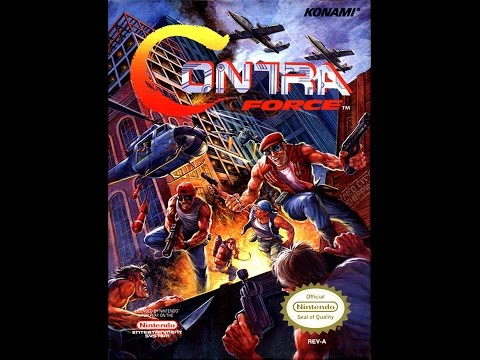 Contra Force - Burns Video Walkthrough