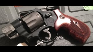 S&w 327 Performance Center Pug Nose Unboxing