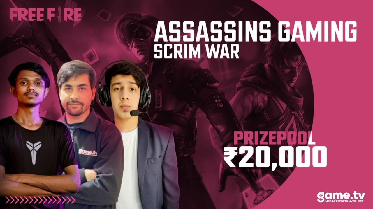 Assassin Gaming Grand Finals  - Powered by Game.tv | India's #1 Mobile Esports Platform