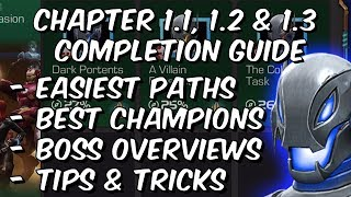 Ultron's Assault Variant Chapter 1 - 1.1, 1.2 & 1.3 Completion Guide - Marvel Contest Of Champions