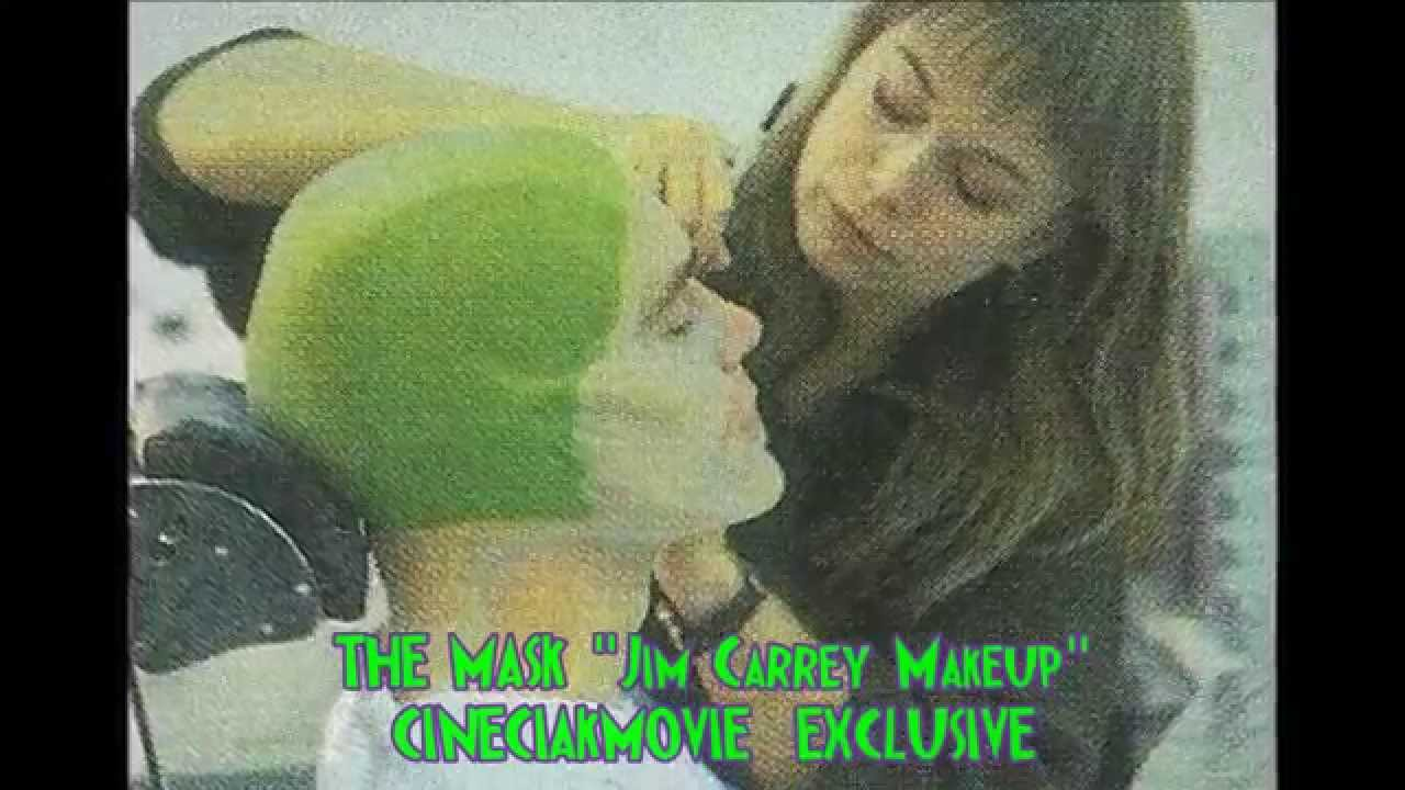 "THE MASK ""JIM CARREY MAKEUP"" - YouTube Jim Carrey Grinch Makeup"